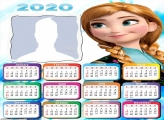 Princess Anna Frozen Calendar 2020
