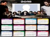 Calendar 2018 Twilight