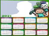 Calendar 2021 Skin Minecraft