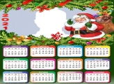 Santa Claus Merry Christmas Calendar 2021