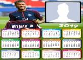 Neymar PSG Calendar 2019