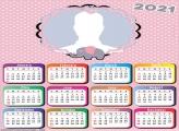 Calendar Pink Elephant