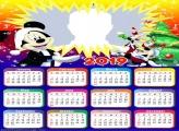 Christmas Mickey Disney Calendar 2019