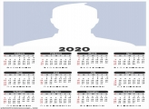 Calendar 2020 Blank Frame Picture