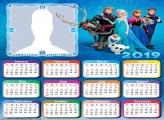 Frozen Characters Calendar 2019