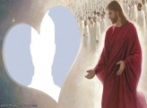 Jesus Heart Photo Montage