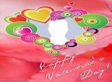 Happy Valentines Day Collage