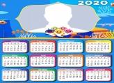 Baby Shark Calendar 2020