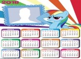 Calendar 2018 My Little Pony
