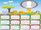Calendar 2018 Safari