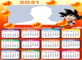 Calendar 2021 Dragon Ball Goku