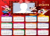 Calendar 2021 Mickey and Minnie