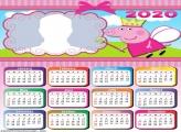 Fairy Peppa Pig Calendar 2020