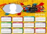 Calendar 2018 Batman Lego