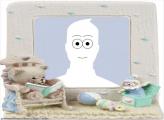 Frame Online Teddybear and Music Box
