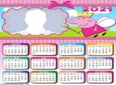 Peppa Pig Fairy Calendar 2021