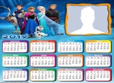 Characters Frozen Movie Calendar 2019
