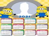 Calendar 2021 Minions