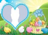 Photo Frame Easter Egg Boy Child