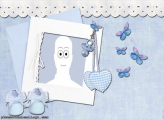 Blue Baby Accessories Picture Frame Free