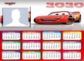 Lightning McQueen Calendar 2020