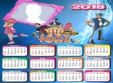Calendar 2018 Lazytown