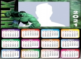 Calendar 2021 Incredible Hulk