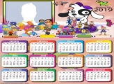 Cartoons Discovery Kids Calendar 2019
