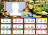 Calendar 2021 Shrek