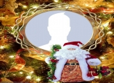 Santa Claus Toy Frame