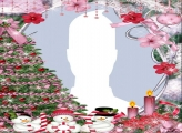 Three Snowmen Toys Photo Collage Frame