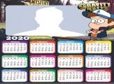 Dipper Gravity Falls Calendar 2020