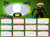 Cat Noir Calendar 2020 Photo Frame