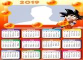 Goku Dragonball Calendar 2019