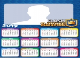 Theme Clash Royale Calendar 2019