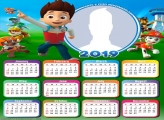 Paw Patrol Calendar 2019