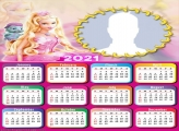 Calendar 2021 Barbie Fairytopiapic