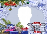 Christmas Mouse Collage
