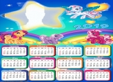 Little Pony Star Calendar 2019