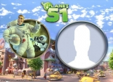 Photo Frame Planet 51