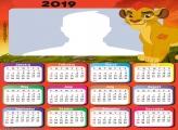 Lion King Calendar 2019
