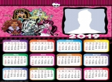 Monster High Calendar 2019