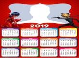 Ladybug and Cat Noir Calendar 2019