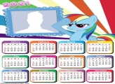 Calendar 2021 My Little Pony Toys
