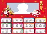 Calendar 2021 Merry Christmas