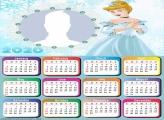Princess of Cinderella Calendar 2020
