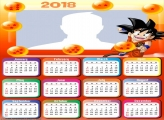 Calendar 2018 Dragon Ball