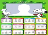 Calendar 2021 Snoopy Drawing