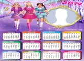 Barbie Princess Charm School Calendar 2019