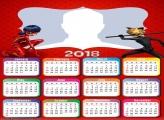 Calendar 2018 Ladybug